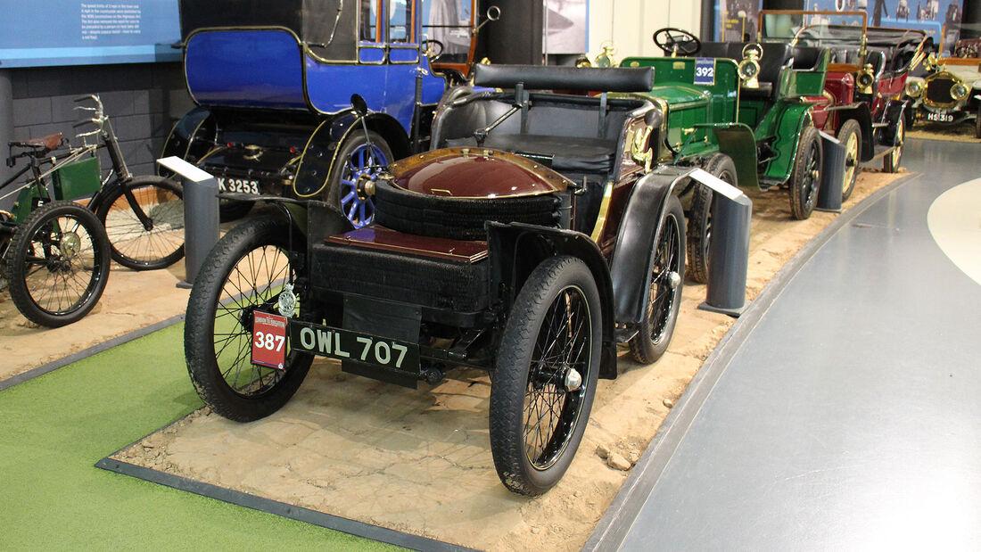 Thornycroft 20hp im British Motor Museum