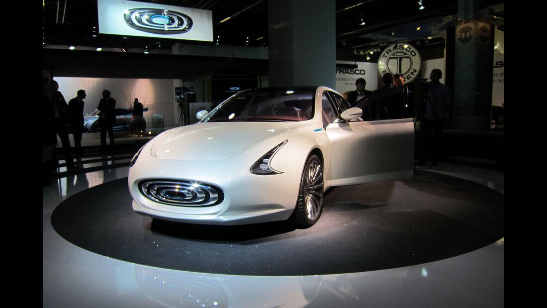 Thunder Power Sedan - Elektro-Auto - IAA 2015
