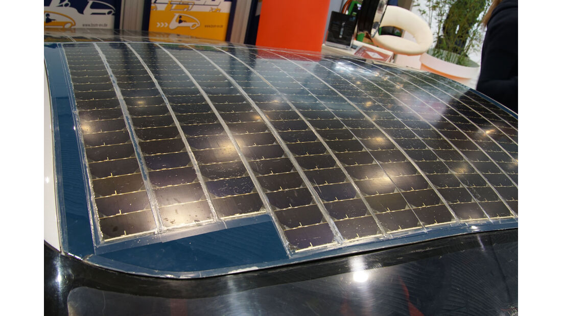 Thyssen Krupp Sun Riser - Electric Vehicle Symposium 2017 - Stuttgart - Messe - EVS30