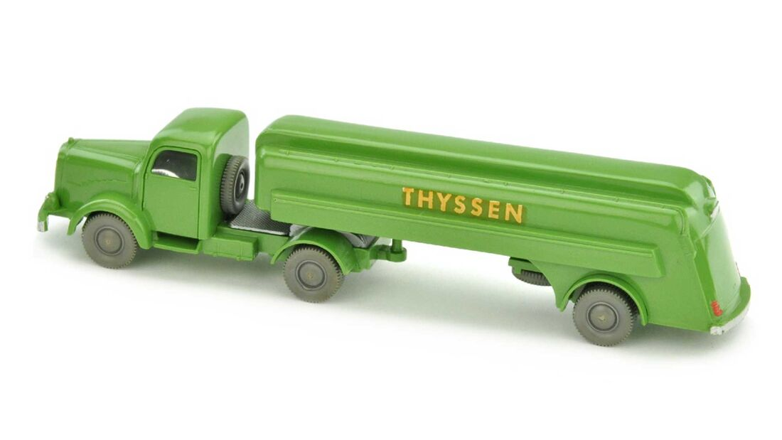 Thyssen - Tanksattelzug Mercedes 5000 (1961)