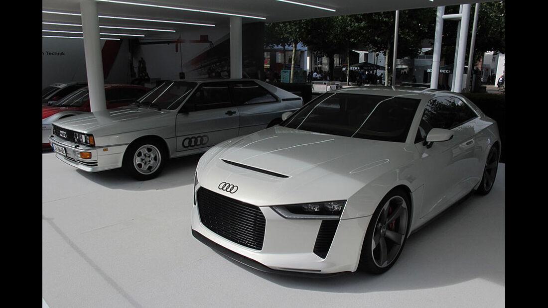 Ticker IAA Audi Quattro Concept