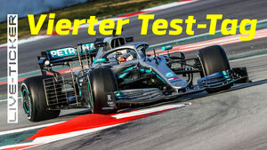 Ticker-Teaser - Lewis Hamilton - Barcelona - Test - 2019