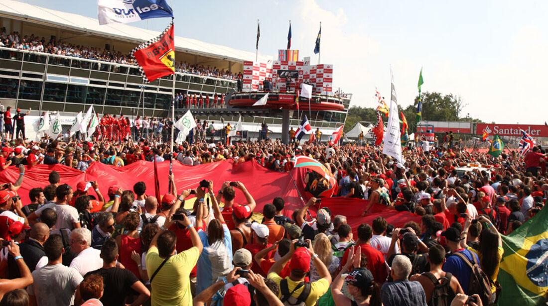 Tifosi GP Italien Monza 2011