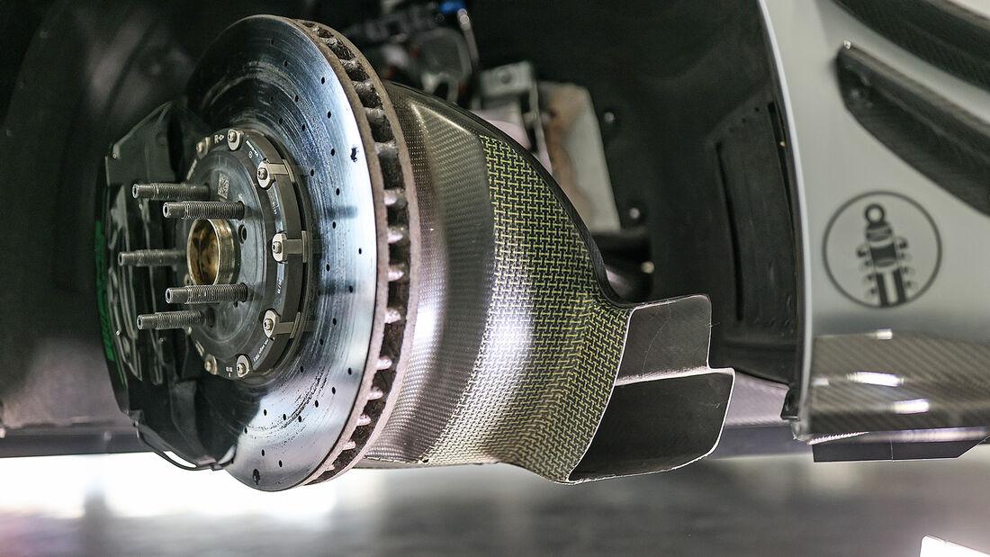 Tikt-Mercedes-AMG GT R Pro, Bremse