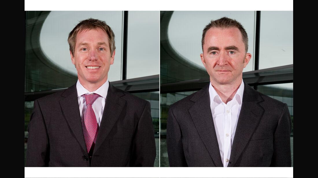 Tim Goss Paddy Lowe Collage McLaren 2013