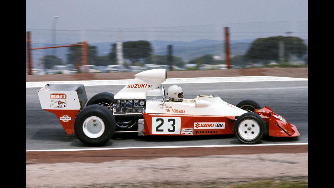 Tim Schenken - Suzuki/Homelite Trojan T103 - GP Spanien 1974