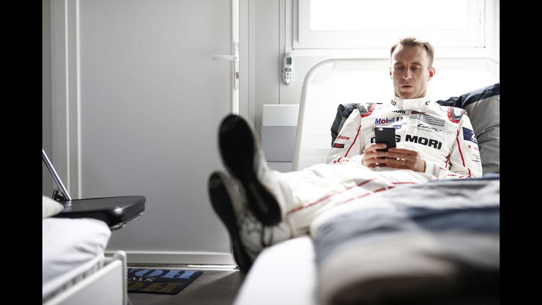 Timo Bernhard - Porsche - 24h Le Mans - Sonntag - 19.06.2016