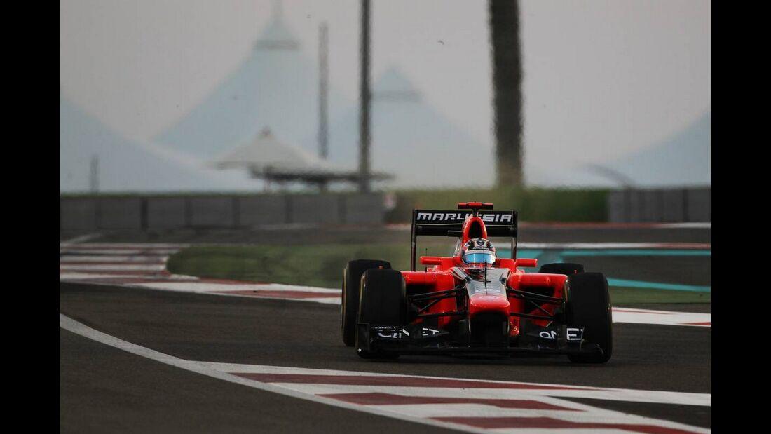 Timo Glock  - Formel 1 - GP Abu Dhabi - 04. November 2012