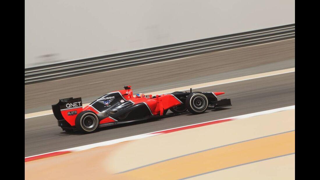 Timo Glock - Formel 1 - GP Bahrain - 20. April 2012