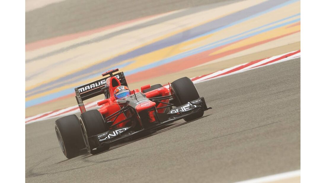 Timo Glock - Formel 1 - GP Bahrain - 21. April 2012
