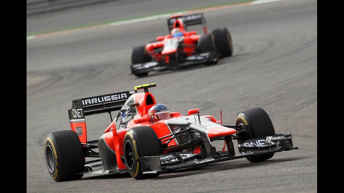 Timo Glock  - Formel 1 - GP Bahrain - 22. April 2012