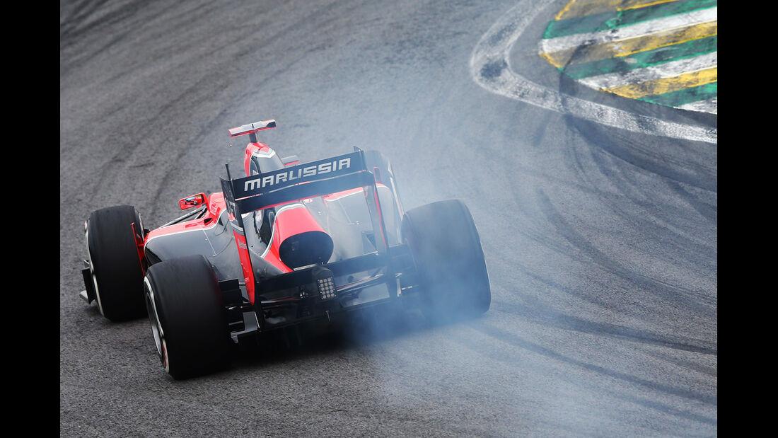 Timo Glock Formel 1 GP Brasilien 2012