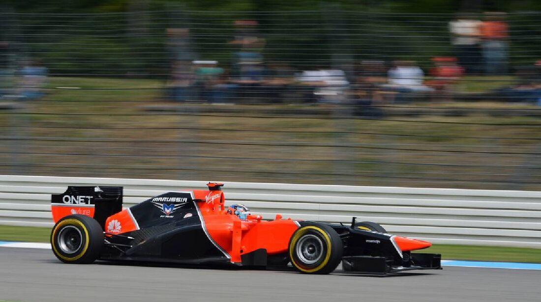 Timo Glock - Formel 1 - GP Deutschland - 21. Juli 2012