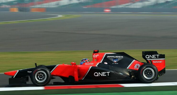 Timo Glock - Formel 1 - GP Indien - 26. Oktober 2012