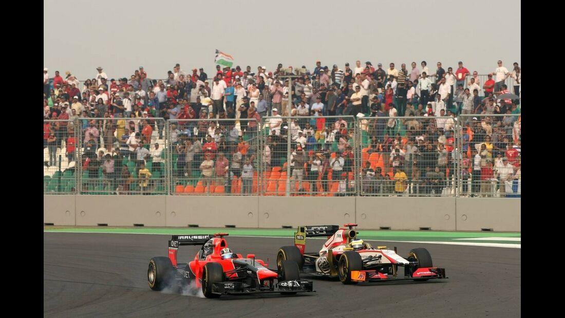 Timo Glock - Formel 1 - GP Indien - 28. Oktober 2012