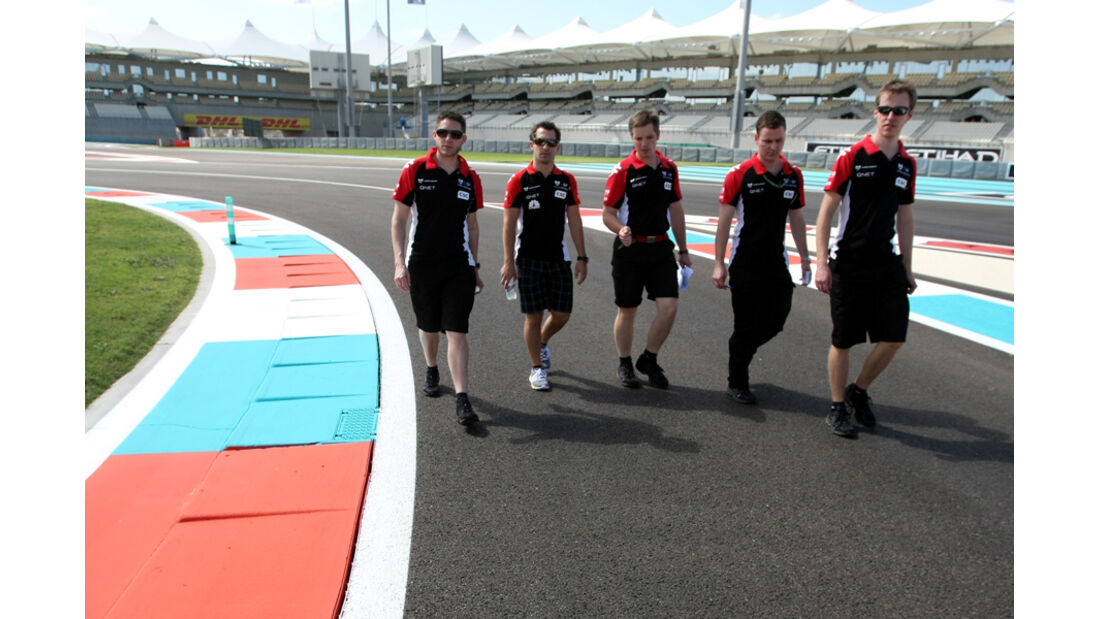 Timo Glock - GP Abu Dhabi - 10. November 2011