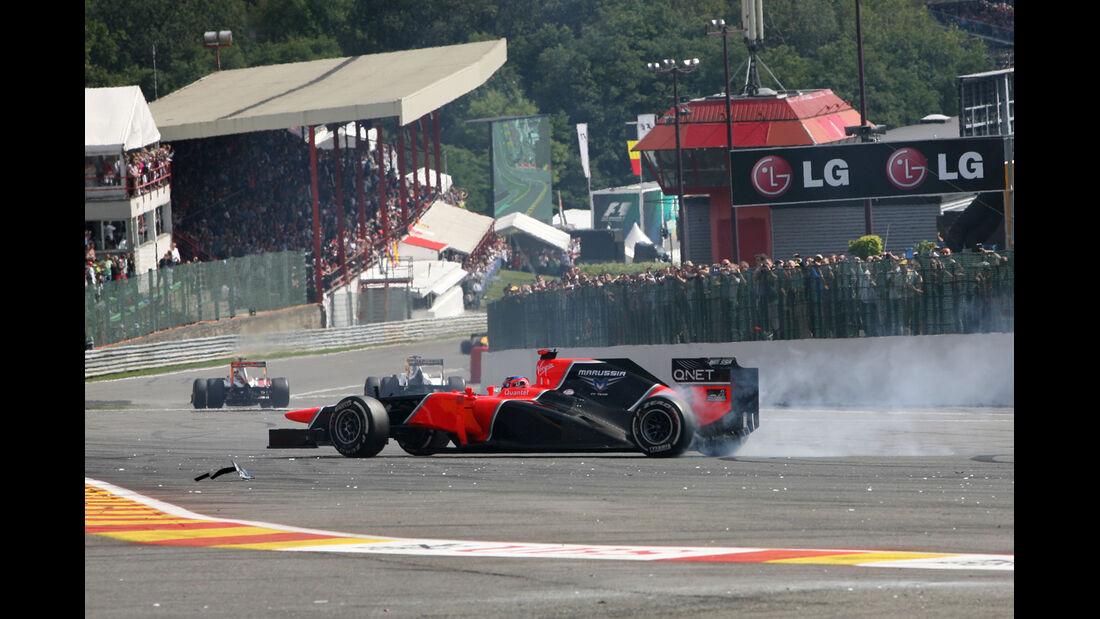 Timo Glock - GP Belgien 2012