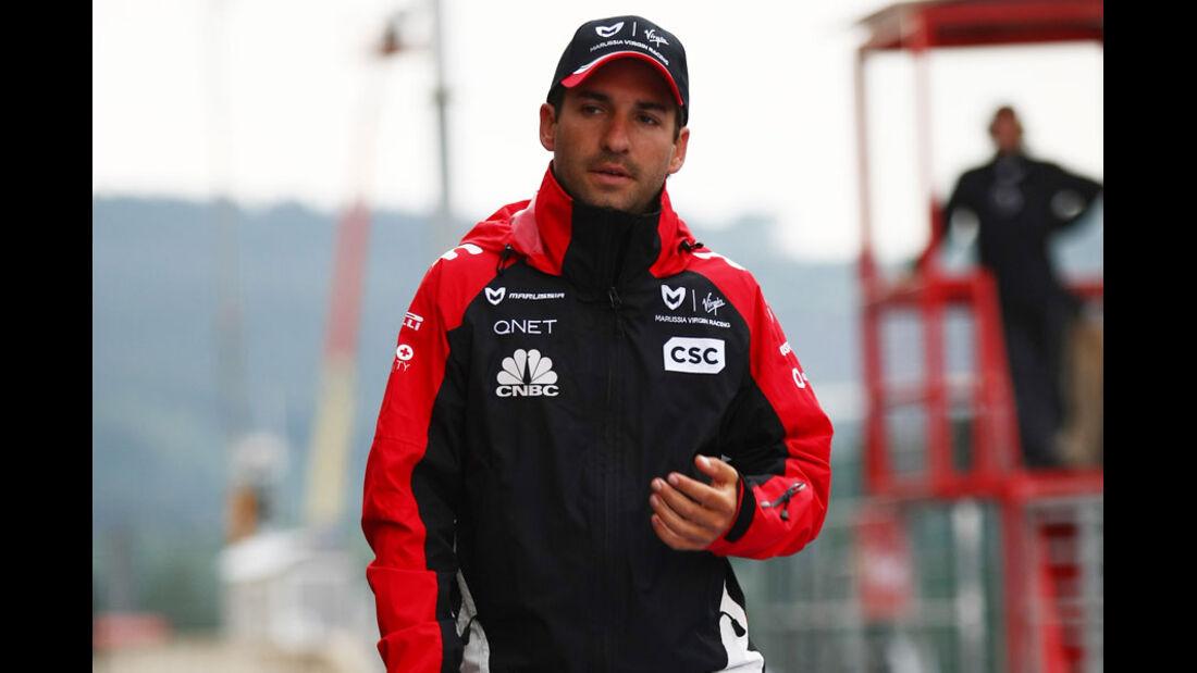 Timo Glock - GP Belgien - 26. August 2011