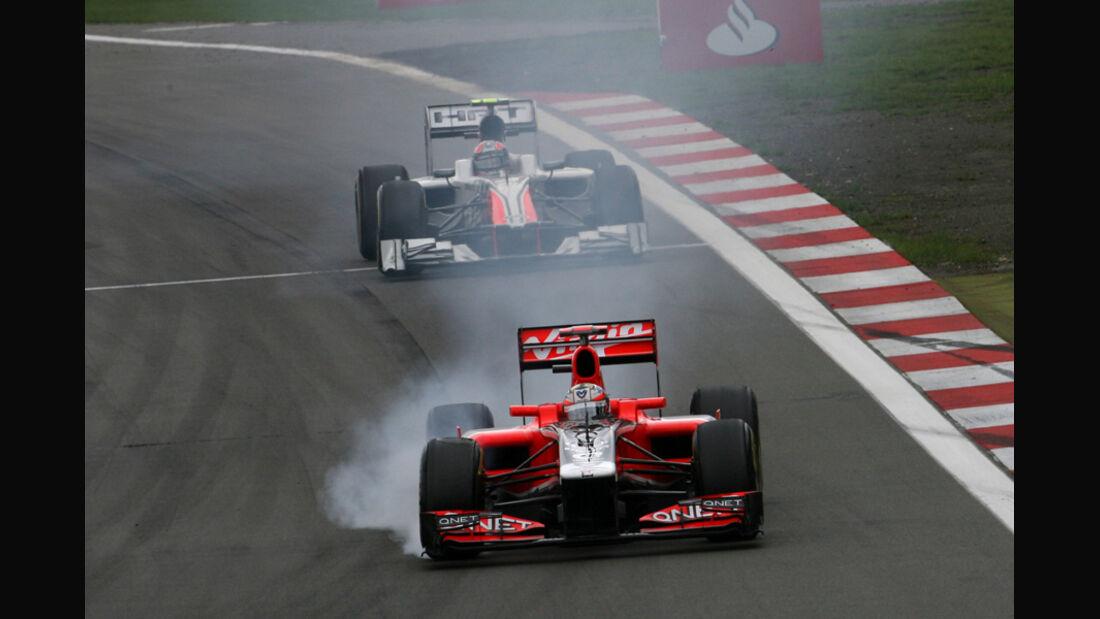 Timo Glock GP Deutschland 2011 Noten