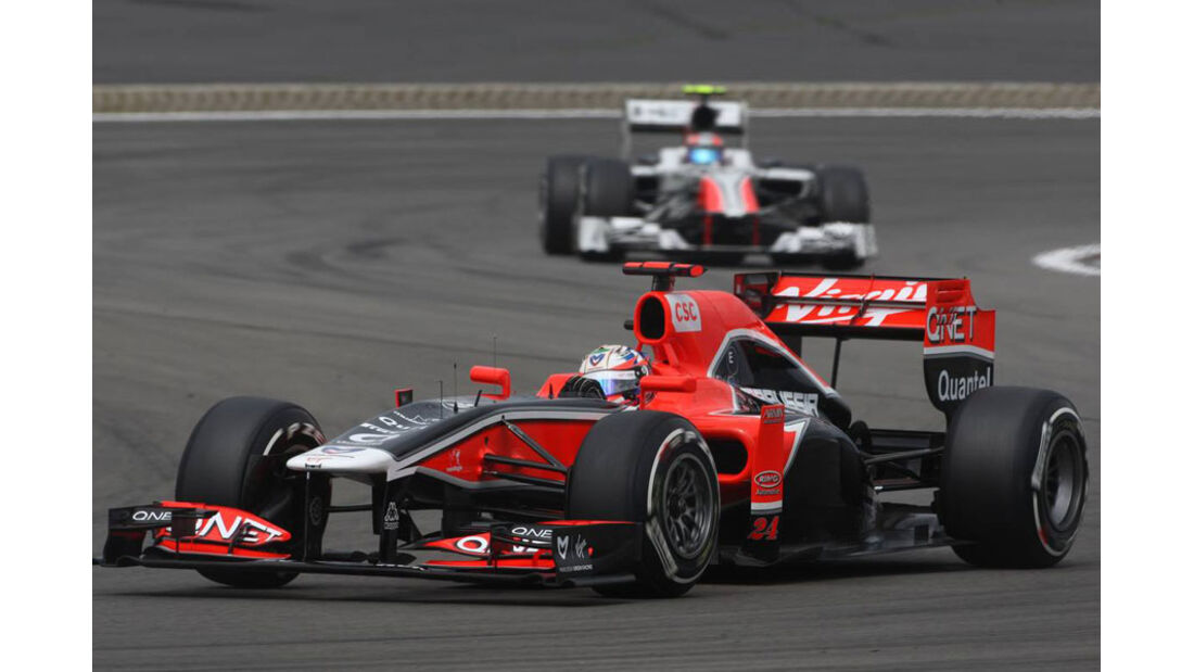 Timo Glock - GP Deutschland - Nürburgring - 23. Juli 2011