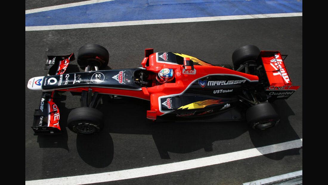 Timo Glock - GP England - Qualifying - 9. Juli 2011