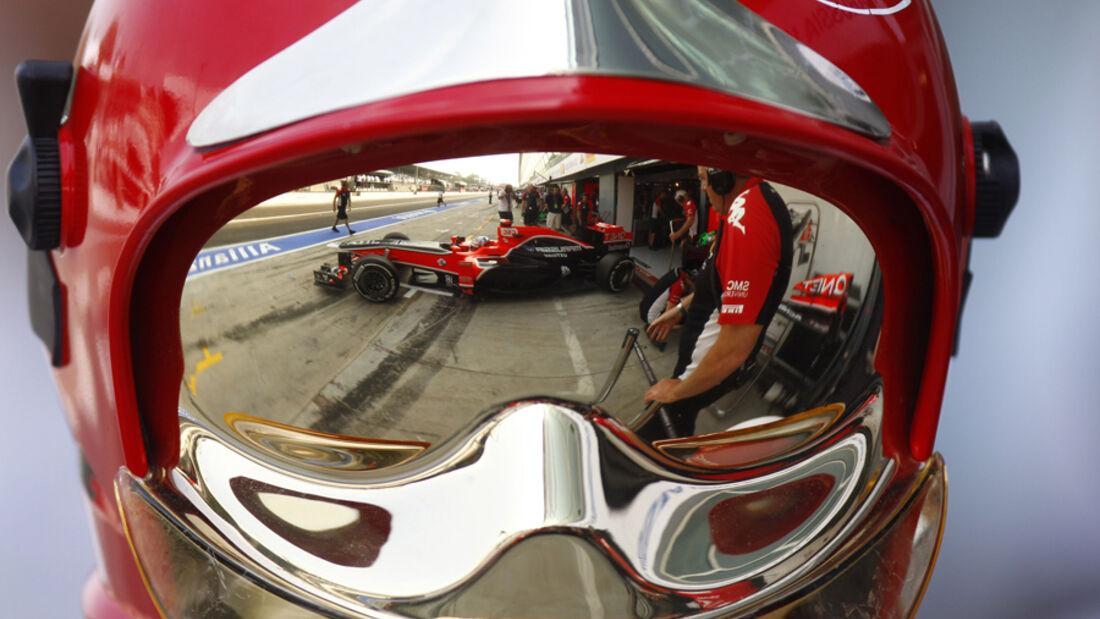 Timo Glock GP Italien Monza 2011
