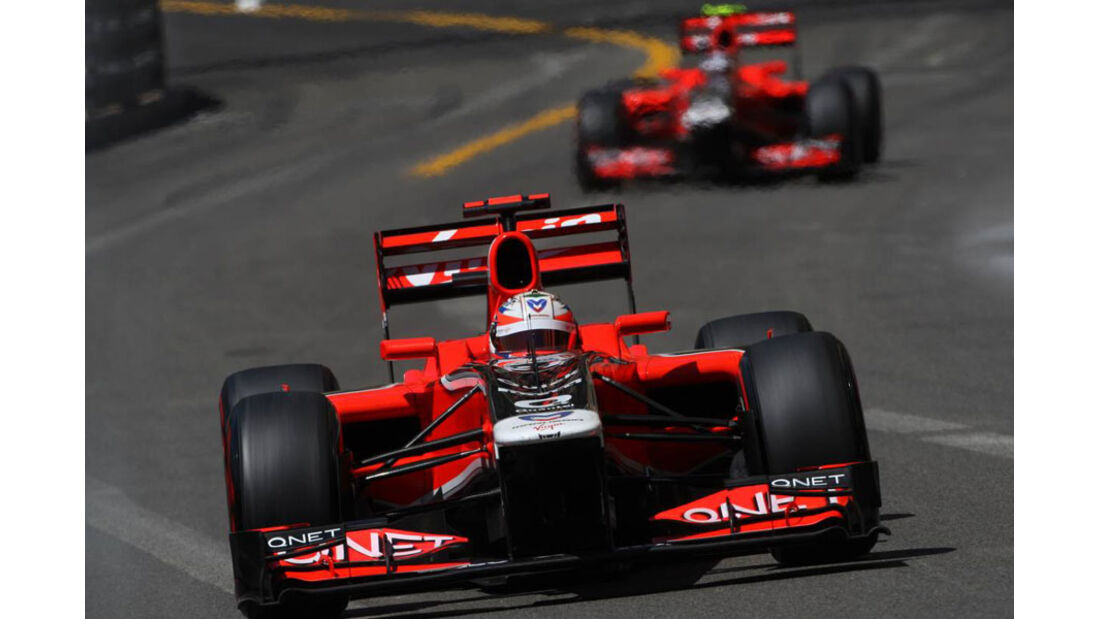 Timo Glock GP Monaco 2011