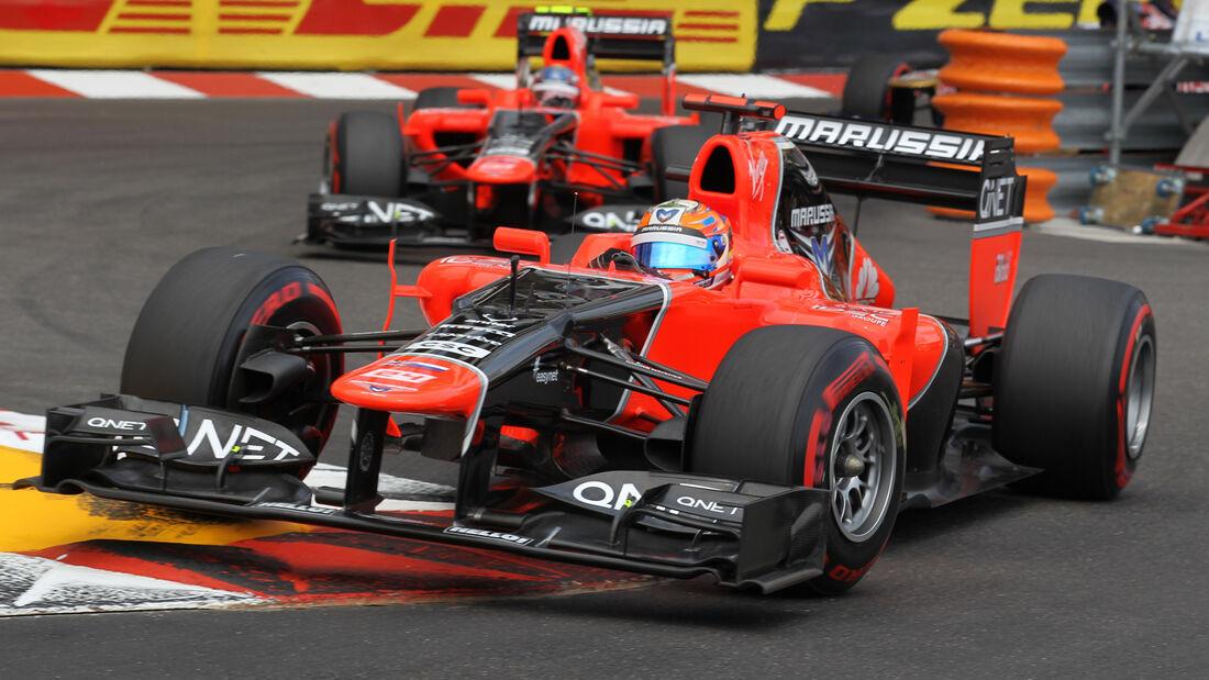 Timo Glock GP Monaco 2012