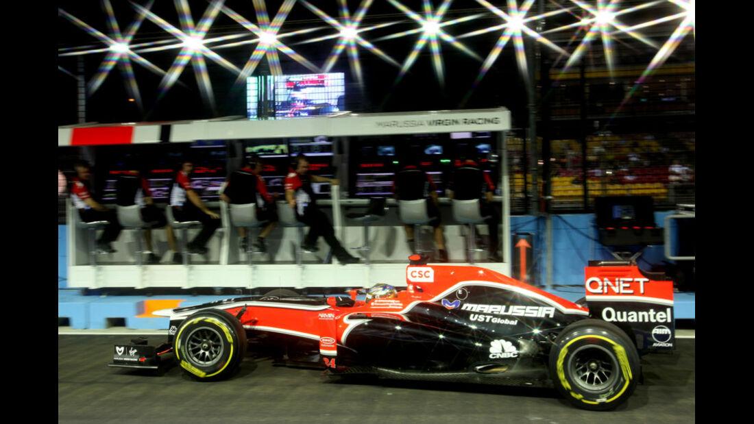 Timo Glock GP Singapur 2011