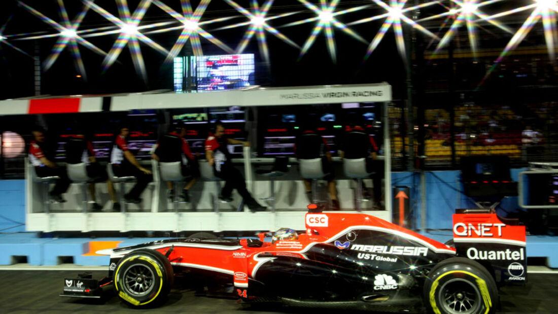 Timo Glock - GP Singapur - 23. September 2011