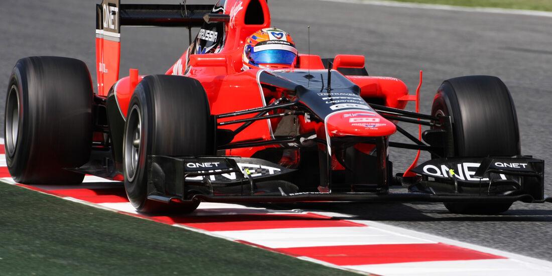 Timo Glock GP Spanien 2012