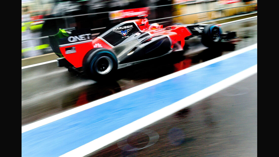 Timo Glock - Marussia - Formel 1 - GP Belgien - Spa-Francorchamps - 31. August 2012
