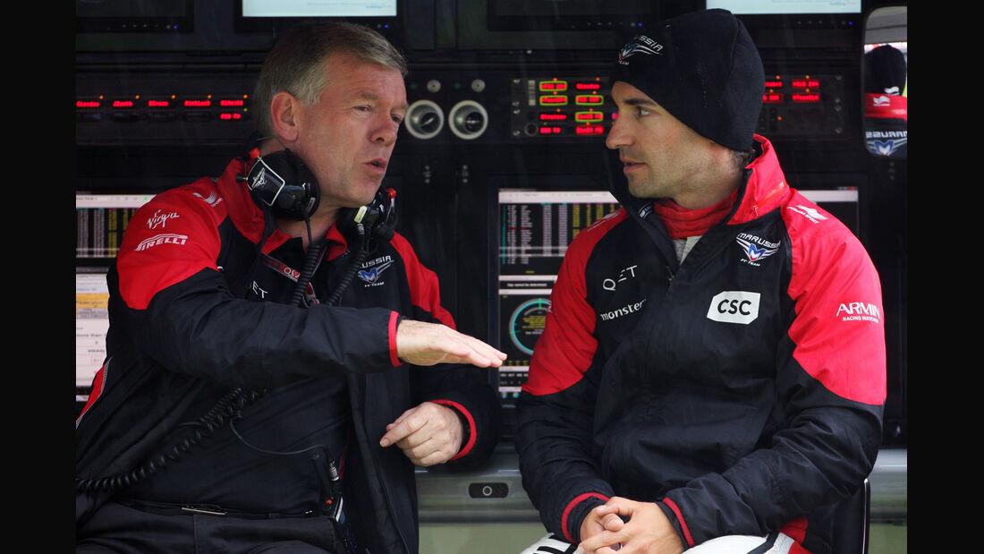 Timo Glock - Marussia - Formel 1 - GP England - Silverstone - 6. Juli 2012