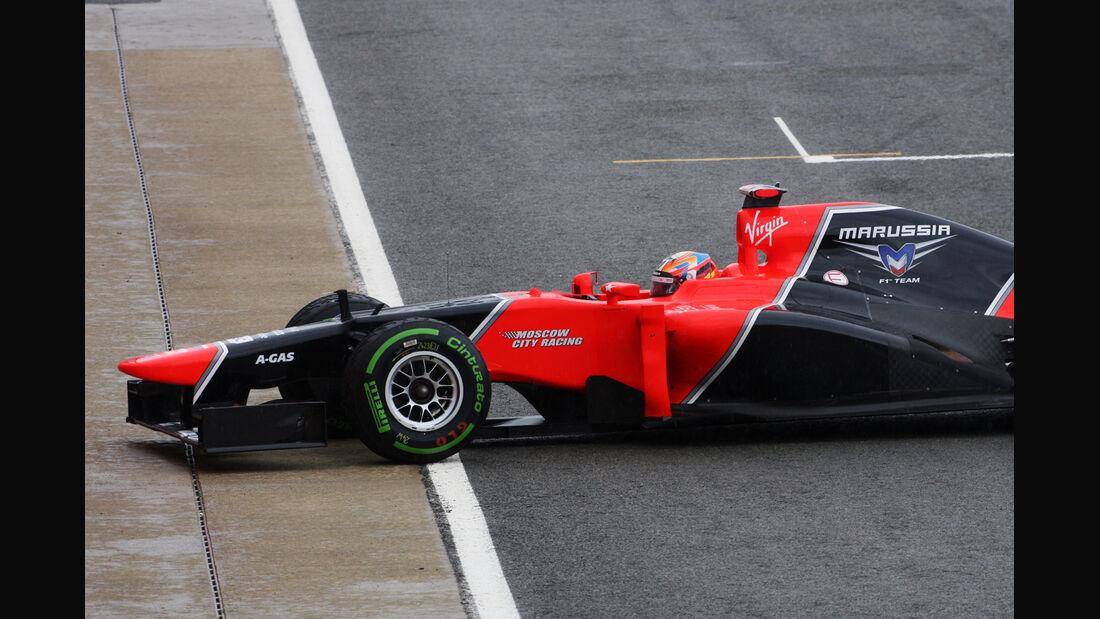 Timo Glock - Marussia - Formel 1 - GP England - Silverstone - 7. Juli 2012