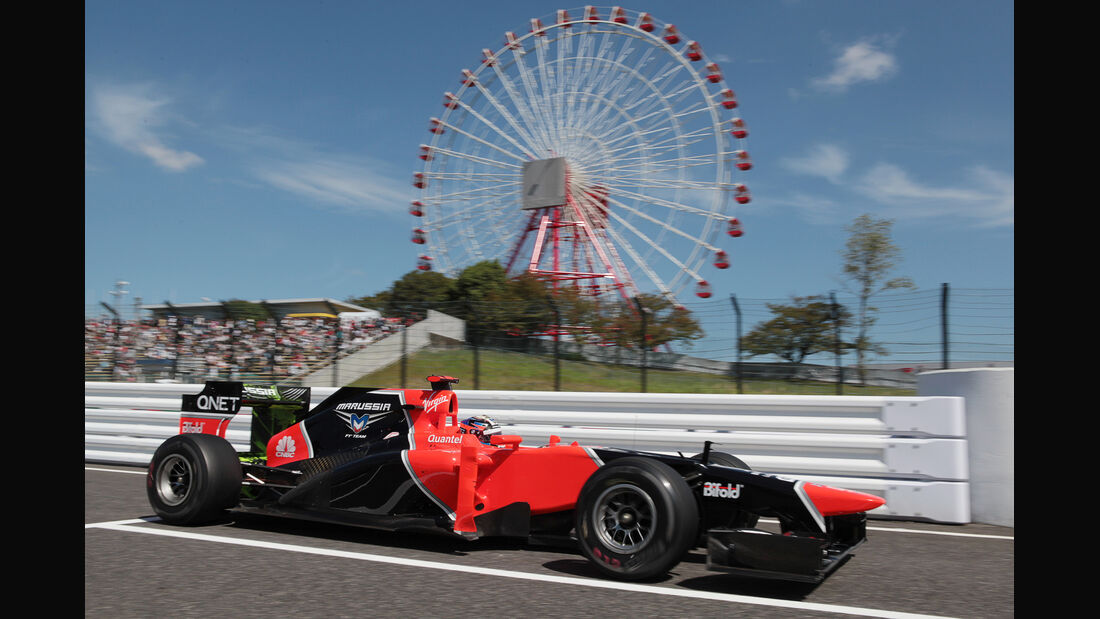 Timo Glock - Marussia - Formel 1 - GP Japan - Suzuka - 5. Oktober 2012