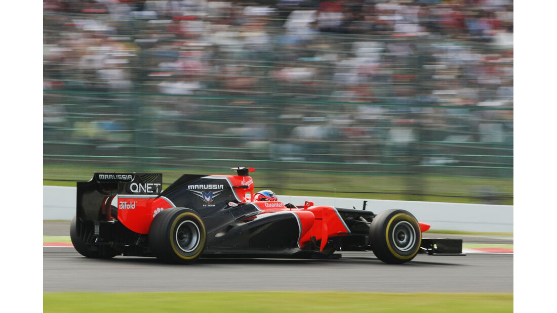 Timo Glock - Marussia - Formel 1 - GP Japan - Suzuka - 6. Oktober 2012