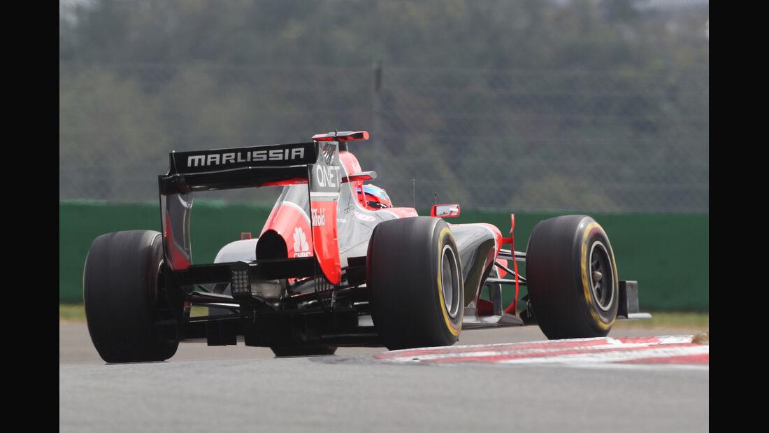 Timo Glock - Marussia - Formel 1 - GP Korea - 13. Oktober 2012