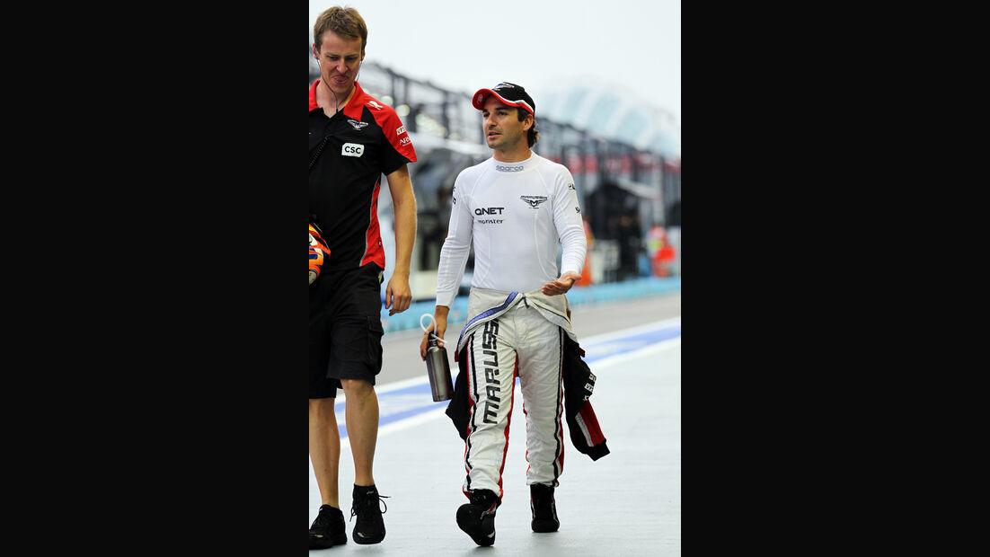 Timo Glock - Marussia - Formel 1 - GP Singapur - 21. September 2012