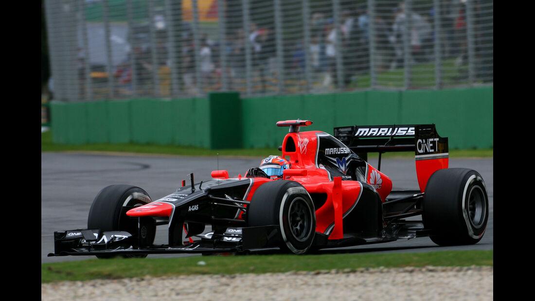 Timo Glock - Marussia - GP Australien - Melbourne - 16. März 2012