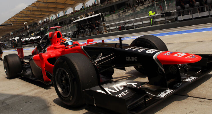 Timo Glock - Marussia - GP Malaysia 2012