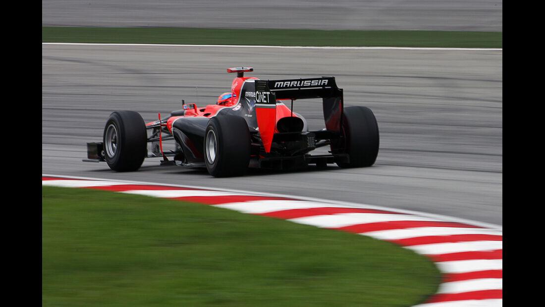 Timo Glock - Marussia - GP Malaysia - 24. März 2012