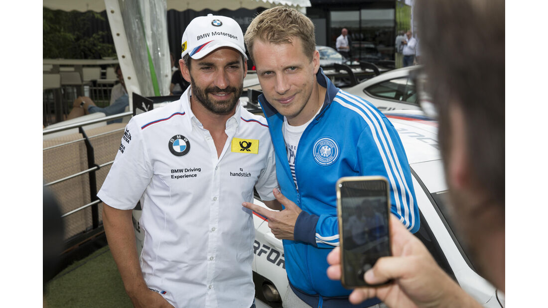 Timo Glock & Oliver Pocher - DTM - Norisring 2016