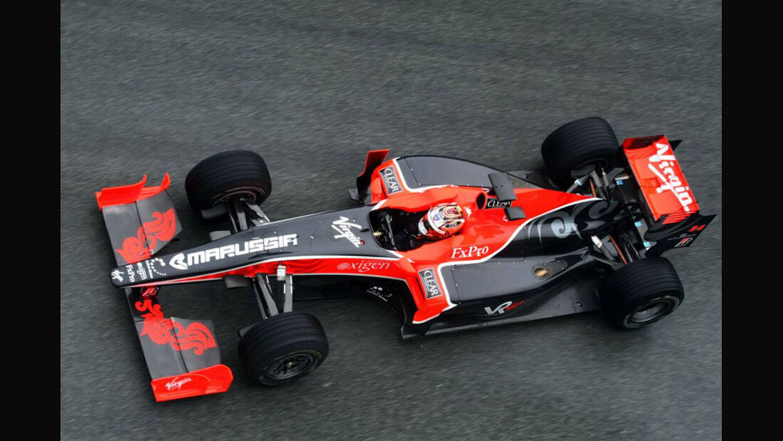 Timo Glock Virgin 2010