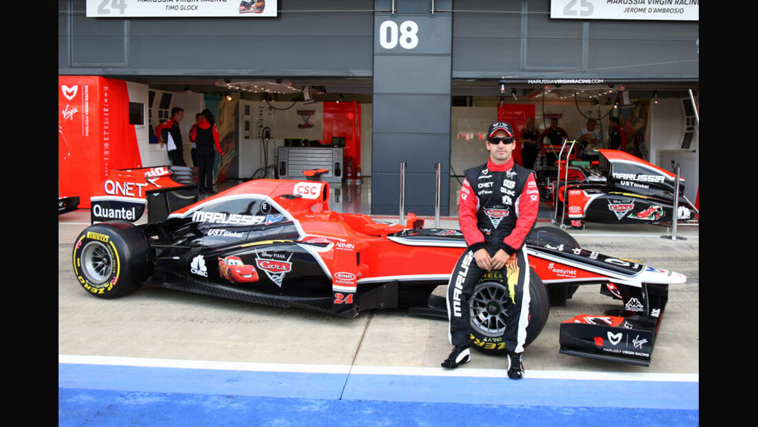 Timo Glock Virgin 2011
