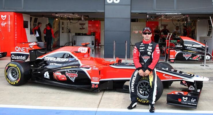 Timo Glock Virgin 2011