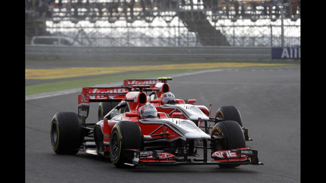 Timo Glock Virgin GP Korea 2011