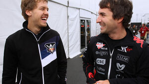 Timo Glock und Sebastian Vettel