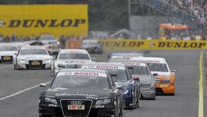 Timo Scheider DTM Audi A4 Norisring 2009