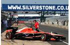 Tio Ellinas - Marussia - Young Driver Test - Silverstone - 17. Juli 2013