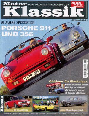 Titel Motor Klassik, Heft 01/2004